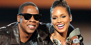 Jay-Z et Alicia Keys sur Empire State Of Mind 2
