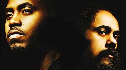Nas & Damian Marley : pochette officielle de Distant Relatives