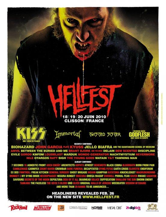 Hellfest 2010 : programmation complète