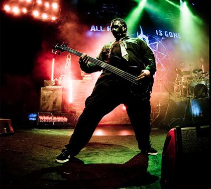 Décès de Paul Gray, bassiste de Slipknot