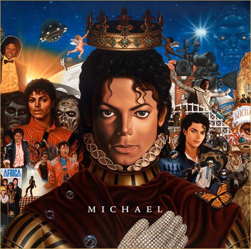 Michael Jackson : nouvel album le 14 décembre (pochette)