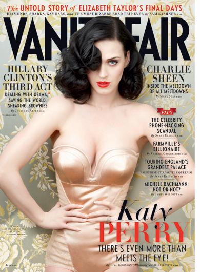 Katy Perry en couverture de Vanity Fair