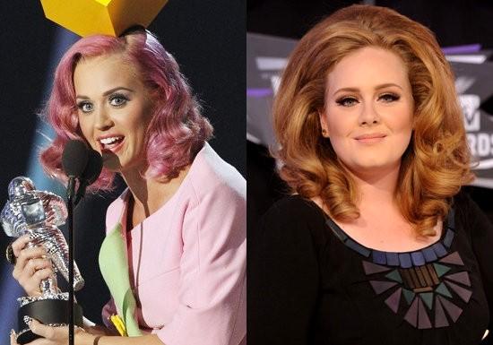 MTV VMA 2011 : liste des gagnants (Adele, Katy Perry, Lady Gaga...)