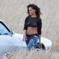 Rihanna : photos du tournage du clip We Found Love