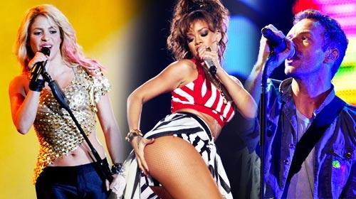 Rock in Rio 2011 : vidéos concerts entiers et photos (Shakira, Rihanna, Coldplay...)