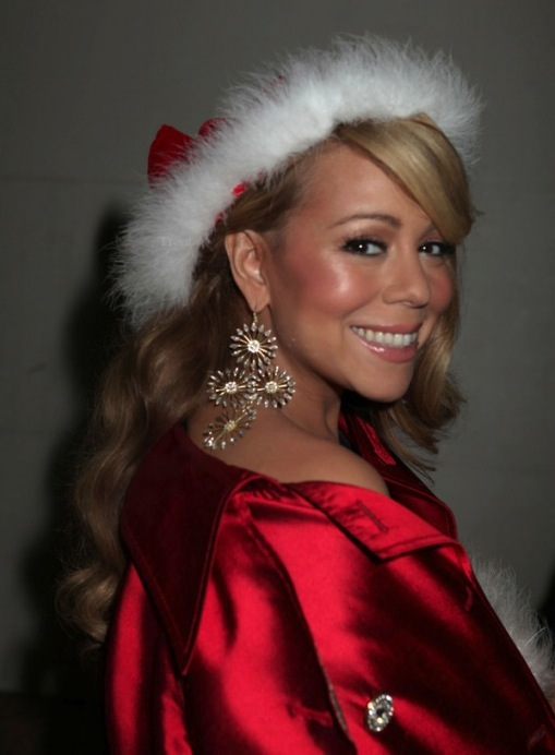 Justin Bieber et Mariah Carey: photos du clip All I Want For Christmas Is You