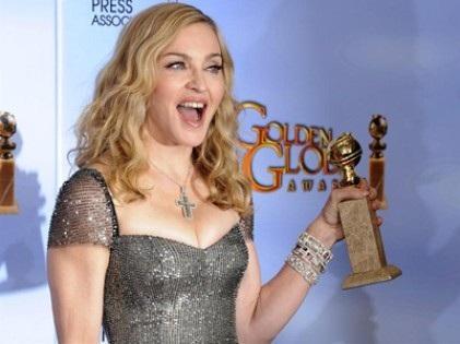 Madonna remporte un Golden Globes pour Masterpiece