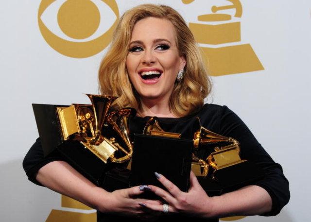 Grammy Awards 2012 : liste des gagnants (Adele, Kanye West, Foo Fighters...)