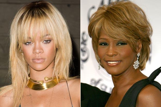 Rihanna dans le rôle de Whitney Houston dans un biopic ?