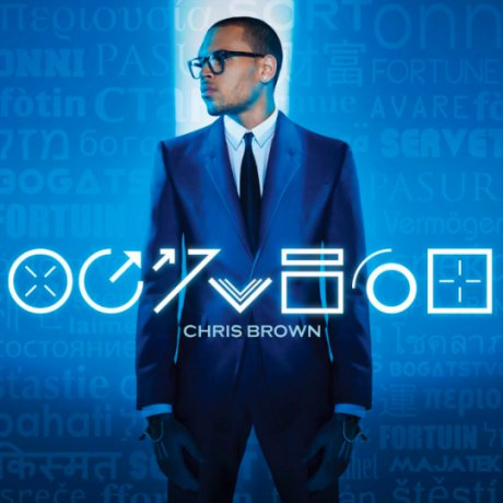 Chris Brown sortira l'album Fortune le 7 mai (pochette)