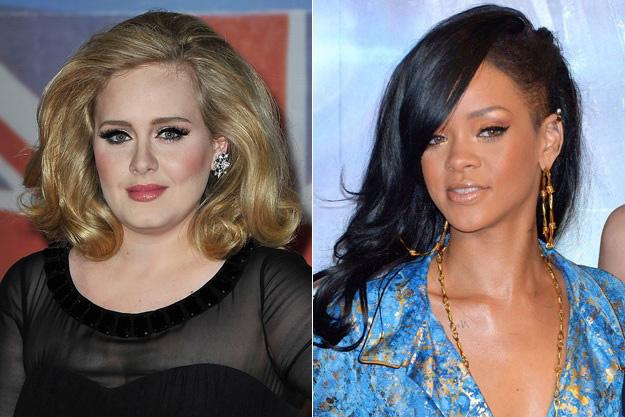 Adele et Rihanna consacrées personnes les plus influentes du monde