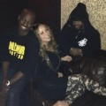 Mariah Carey en studio avec Jermaine Dupri