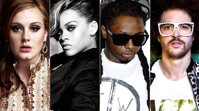 Adele, Rihanna, Lady Gaga et Lil Wayne en tête des Billboard Awards