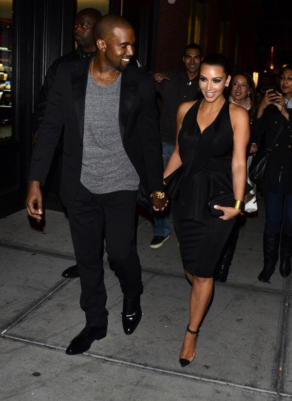Kanye West et Kim Kardashian : officiellement en couple