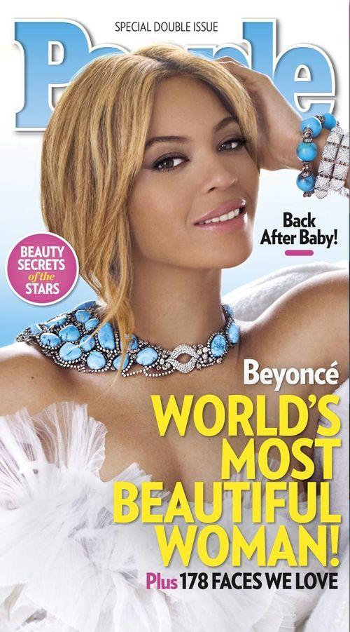 Beyonce élue femme la plus belle du monde par People