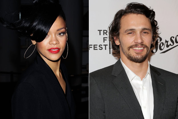 Rihanna voulait l'acteur James Franco dans le clip We Found Love