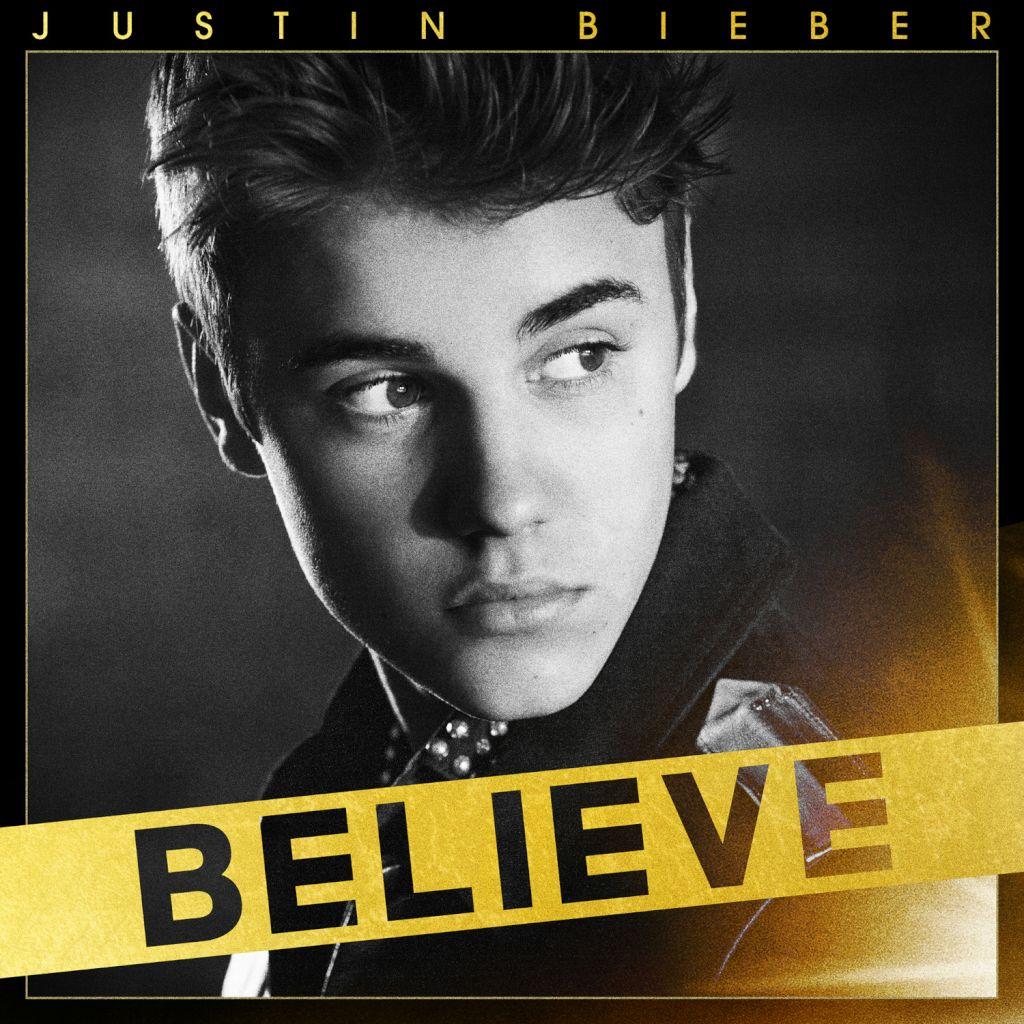 Justin Bieber : pochette de l'album Believe (+ rap freestyle sur Otis)