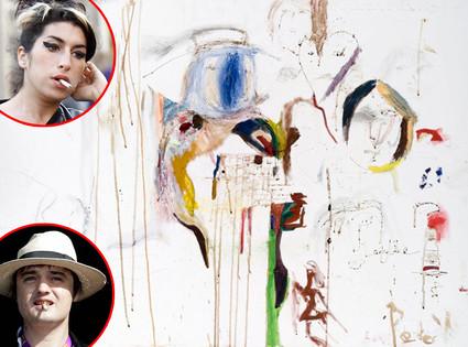 Amy Winehouse : son autoportrait sanglant LadyLike vendu à 35 000£