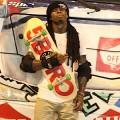 Lil Wayne poursuivi pour avoir frappé un fan avec un skateboard