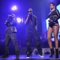 Rihanna au concert de Kanye West et Jay-Z à Londres (vidéo)