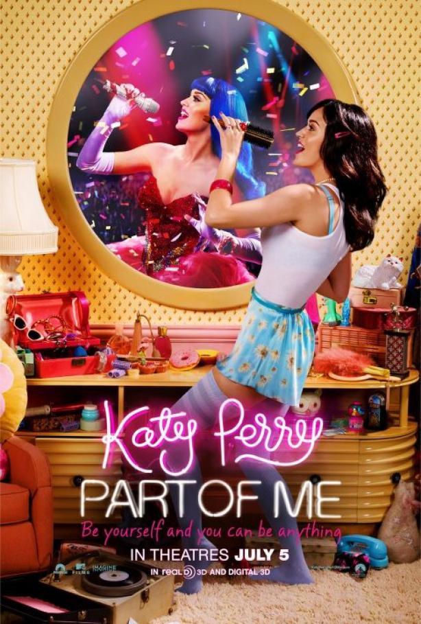 Katy Perry : le film Part Of Me 3D parlera de son divorce