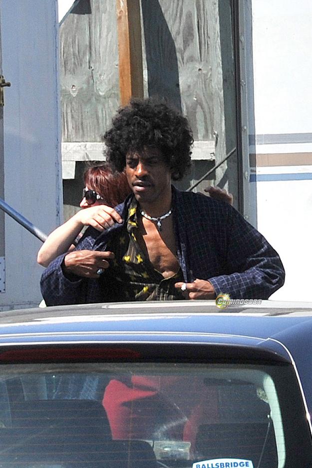Photos d'Andre 3000 en Jimi Hendrix dans le film All Is By My Side