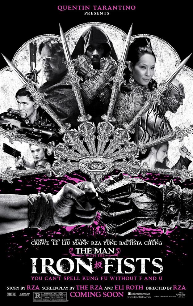 RZA : BO de The Man with the Iron Fists avec Kanye West, Black Keys