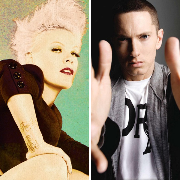 Pink et Eminem collaborent sur Here Comes the Weekend