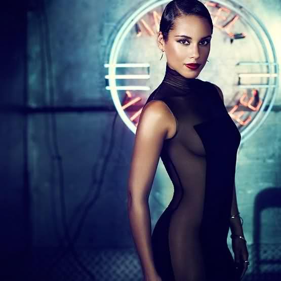 Alicia Keys : Girl On Fire, titre et pochette de l'album