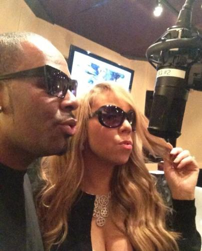 Mariah Carey et R Kelly enregistrent ensemble (photo)