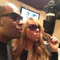 Mariah Carey et R Kelly enregistrent ensemble (photo)