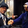 Rakim en studio avec Pharrell Williams