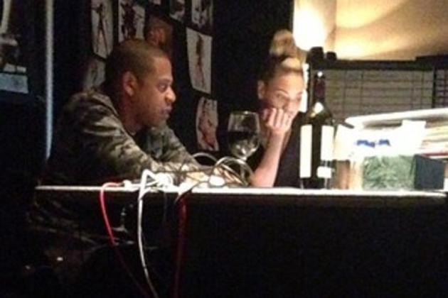 Beyonce et Jay-Z en studio ensemble