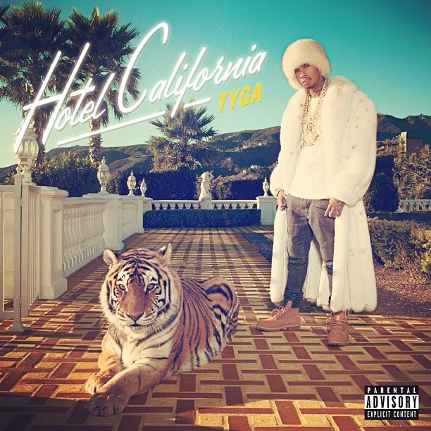 Tyga : pochette et tracklist de l'album Hotel California