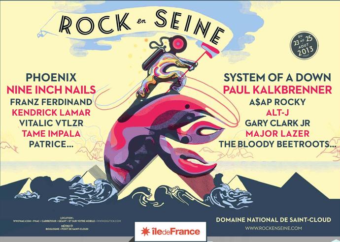 Rock en Seine 2013 : 14 nouveaux artistes (Nine Inch Nails, Kendrick Lamar...)