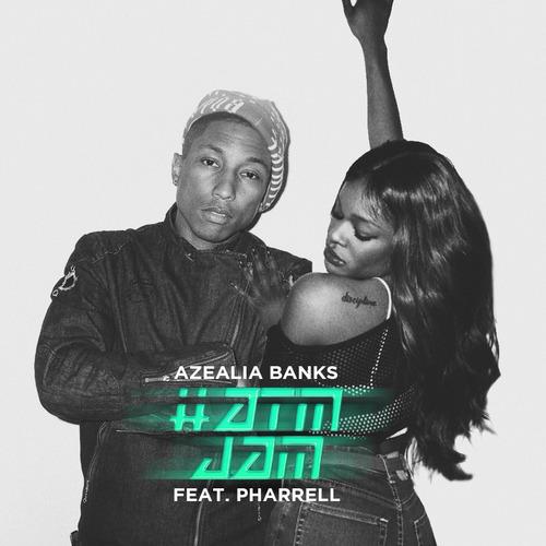 Azealia Banks : lyric vidéo d'ATM Jam feat Pharrell