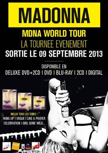 Madonna : teaser MDNA World Tour