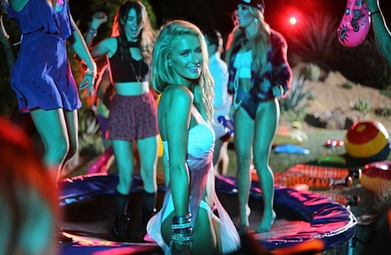 "Paris Hilton & Lil Wayne : clip vidéo ""Good Time"""