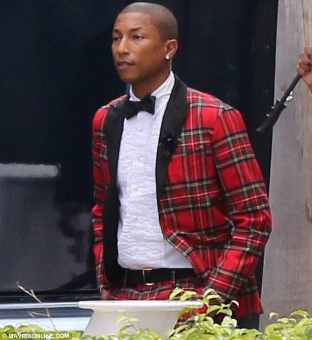 Pharrell Williams s'est marié à Helen Lasichanh (photos)