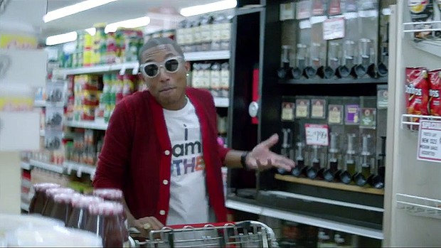 Pharrell Williams sort le clip de Happy qui dure 24 heures