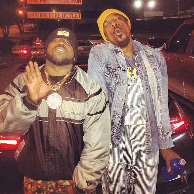 Outkast : Big Boi et Andre 3000 réunis en photo