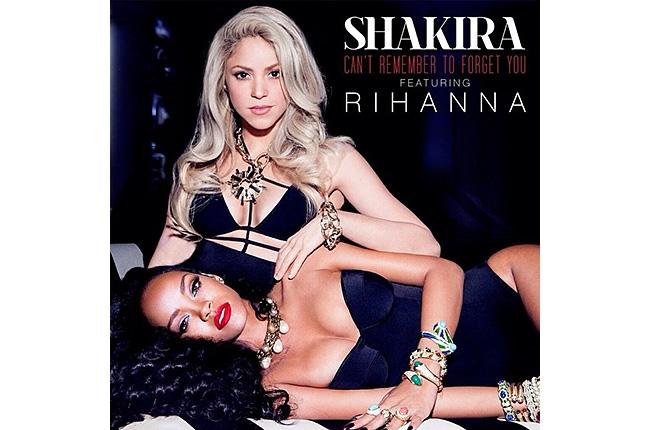 Shakira et Rihanna : Can't Remember To Forget en écoute (audio)