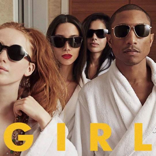 Pharrell : l'album G I R L en streaming !