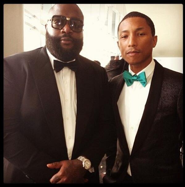 Rick Ross attendu en tête des charts devant Pharrell