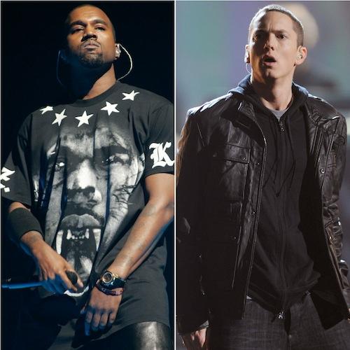Eminem voulait clasher Kanye West, Lil Wayne et Drake