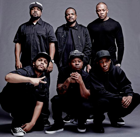 Dr Dre dévoile une photo du casting du film Straight Outta Compton