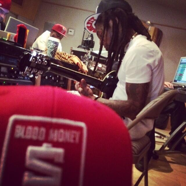 Game collabore avec Lil Wayne en studio