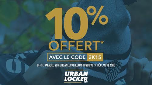 UrbanLocker : code promo -10% pour les fêtes de fin d'année