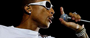 Prestation de Pharrell Williams sur Canal +