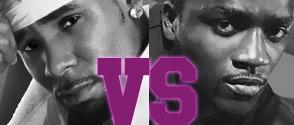 Meilleur Artiste RnB la Finale : Akon vs R Kelly